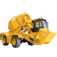 China 4 Cubic Meter Self Loading Concrete Mixer Truck on sale