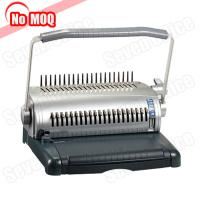 Buy cheap NO MOQ office use manual book binder A4 paper comb binding machine manufacturer product