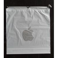Buy cheap Custom Apple Iphone Classic Drawstring Plastic Bags with PP Rope product