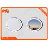 Buy cheap Customized Sublimation Compact Mirror For Promotion Gift / Business Gift from wholesalers