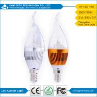 China High Power Dimmable LED Candle Light Bulb For Home Decoration 220V on sale