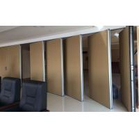 Buy cheap 65 mm Type Panel Hanging Sliding Wooden Movable Sound Proof Partitions from wholesalers