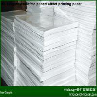 Buy cheap 100gsm Colored Offset Paper with Wood Pulp product