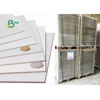 Buy cheap Recycled Grey Board Paper / Hardcover Paper Double Side Chipboard Customized from wholesalers