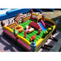 Buy cheap Sweet And Cute Cake Bakery Doughnut Candy Inflatable Jumping Castle 6 * 6 * 2m product