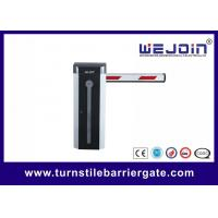 Buy cheap Electric Car Auto Barrier Gate System , Traffic Barrier Gate 3/6 Second Speed product