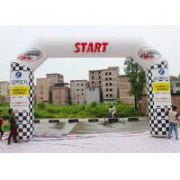 Buy cheap Outdoor Custom Inflatable Arch PLD - SA With Lighting System / Banners product