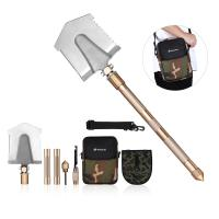 Buy cheap Multifunctional Outdoor Leisure Products All In One Military Shovel Foldable And Portable product