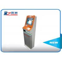 Buy cheap 19 inch free standing LED self service kiosk with smart design from wholesalers