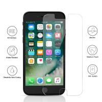 Buy cheap 9H Full Tempered Glass Bubble Free Iphone Screen Protector Case Friendly product