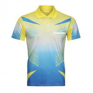 China Factory No Minimum Custom Digital Print table tennis jersey design Unisex Tennis Spor tennis shirt on sale
