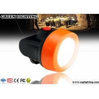 Buy cheap Waterproof Anti Explosive LED Mining Cap Lights 6000 Lux Strong Brightness product