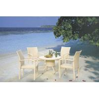 Buy cheap Stylish Elegant UV Philippine Dining Table Set Indoor / Outdoor Furniture for Living Room , Hotel product