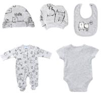 Buy cheap Printed spring and Autumn Newborn Baby Clothes Set Easy Wash And Easy Dry from wholesalers