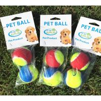 Dog Toy  Tennis Balls for Your Dog. 2-Pack, Colors Vary