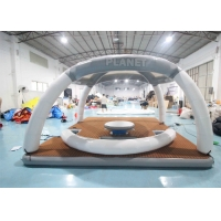 Buy cheap DWF 20cm Thickness Inflatable Floating Platforms Dock Inflatable Water Floating from wholesalers