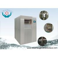 China Compact PLC System Laboratory Steam Sterilizer With Built In Printer And Safety Valve on sale