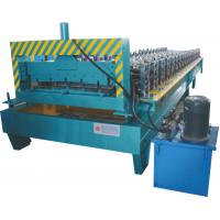 Buy cheap Thickness 0.3 - 0.7mm Roofing Sheet Making Machine Working Speed 0 - 20 M / Min product