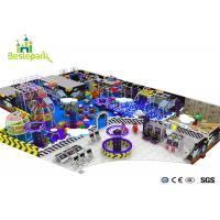 Buy cheap Space Theme Park Sky Castle Kids Plastic Indoor Playground With Slide Multi - from wholesalers