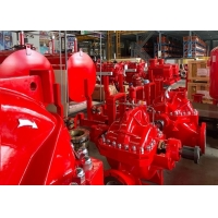Buy cheap UL / FM Listed Split Case Single Stage Fire Pump Set With NFPA 20 Standard product
