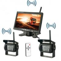 Buy cheap Security Vehicle Reversing Systems Wireless 400/1 Rearview Camera 7 Inch Monitor product