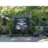 Buy cheap Rental Full Color LED Curtain Display , P3 Stage Background Video Wall Screen product