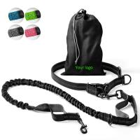 Buy cheap 2 In 1 Hands Free Retractable Dog Leash Easy Grip Handle OEM / ODM Available product
