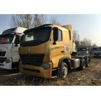 Durable HOWO A7 Tractor Truck , High Performance 420HP Tractor Head Truck For Logistics