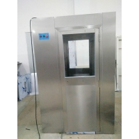 Buy cheap Pharmaceutical Industrial Class 100 Clean Room Air Shower With Stainless Steel Nozzle product