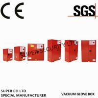 Buy cheap Red Paint Ink Chemical Hazardous Storage Cabinet for storing Paint,Ink product