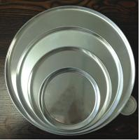 Buy cheap Alum Alloy Cheese Cake Pan Oven Tray Bright Surface For Food Baking product