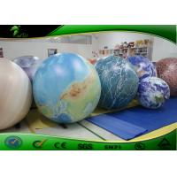 Buy cheap PVC Inflatable Advertising Balloons 2 meter / giant inflatable planet balloon product