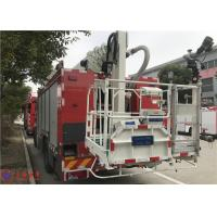 Buy cheap 4x2 Drive 6 Cylinder Diesel Engine Aerial Ladder Fire Truck 177Kw 2400r/min product