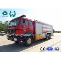 Northern Benz 10 Tons High Mobility Water Fire Truck , Fire Service Vehicles