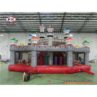 China Advertising Inflatable Bouncer Mushroom Bouncing Combo Playground With CE Air Blower on sale
