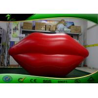 Buy cheap PVC Inflatable Red Lips Shape Model / Inflatable Lip Balloon For Display product