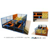 Buy cheap 78M2 Gym Fitness Indoor Jump Park/ Body Building Trampoline Park /Popular Used in Amercian Indoor Trampoline from wholesalers