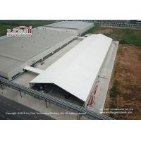 Buy cheap 25 Meter Width Warehouse Marquee Canopy Tent with Translucent Pvc Roof Cover from wholesalers