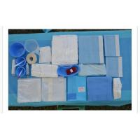 Buy cheap Blue Color Sterile Surgical Drape Pack / Disposable Examination Drape from wholesalers