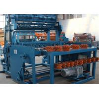 Buy cheap Hinge Joint Knot Weaving Grassland Fence Machine 3.5T 5.5kw Netting Width 1422mm product