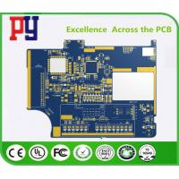 Buy cheap Blue Two Layer Quick Turn Pcb Prototypes , FR4 Circuit Board 2 Oz Copper Thickness product