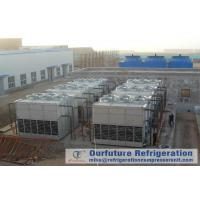 Buy cheap Cold Storage Refrigeration System Evaporative Condenser Chiller Draft Type from wholesalers