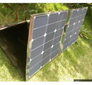 Travel Portable Folding Solar Panels Light Weight High Solar Conversion Efficiency