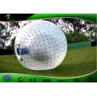 Buy cheap Professional 0.8mm PVC Inflatable Human Ball Soccer For Crazy Events product