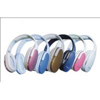 China Unique Exterior and TF Card FM Wireless Headphones With Mic, Internet Video Chat on sale