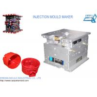 Buy cheap Custom House hold Plastic Injection Molds Red Durable Spare Parts from wholesalers
