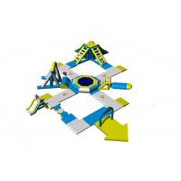 Buy cheap Inflatable Aqua Park Equipment / Inflatable Commercial Water Park Toys Manufacturer product