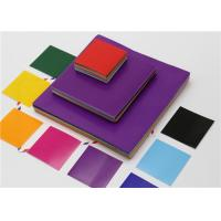 Buy cheap DIY Craft Colored Gummed Squares , Lick To Stick A4 Gummed Paper product