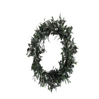 Buy cheap 55CM Artificial Office Plants Faux Olive Wreath Natural D116-1 Refreshing Ambiance product