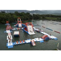 Buy cheap Commercial Inflatable Water Parks For Amusement Resort Flame Resistance product
